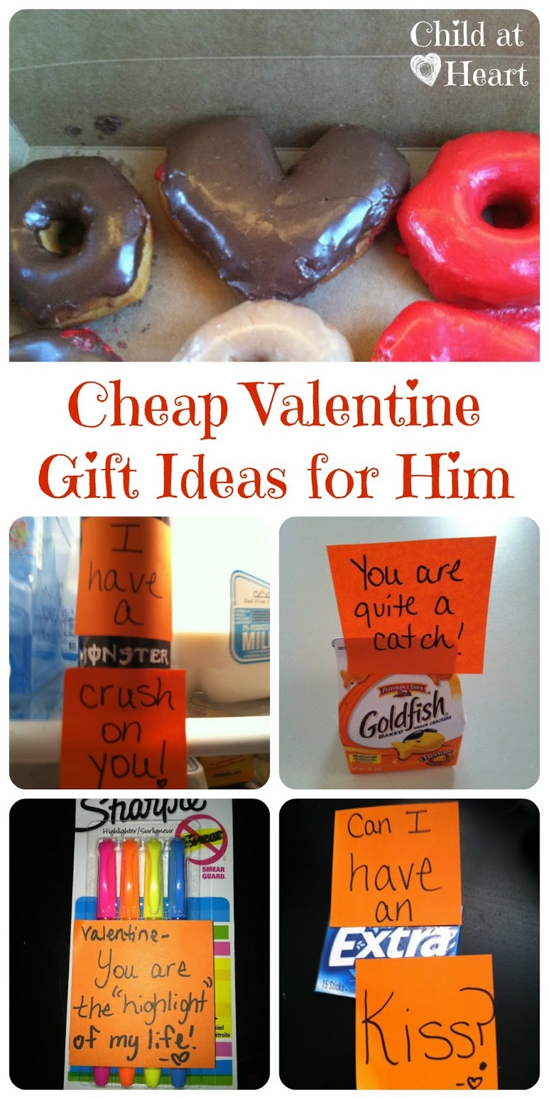 cute valentines day gifts for him cheap gift ideas for him child at 31324