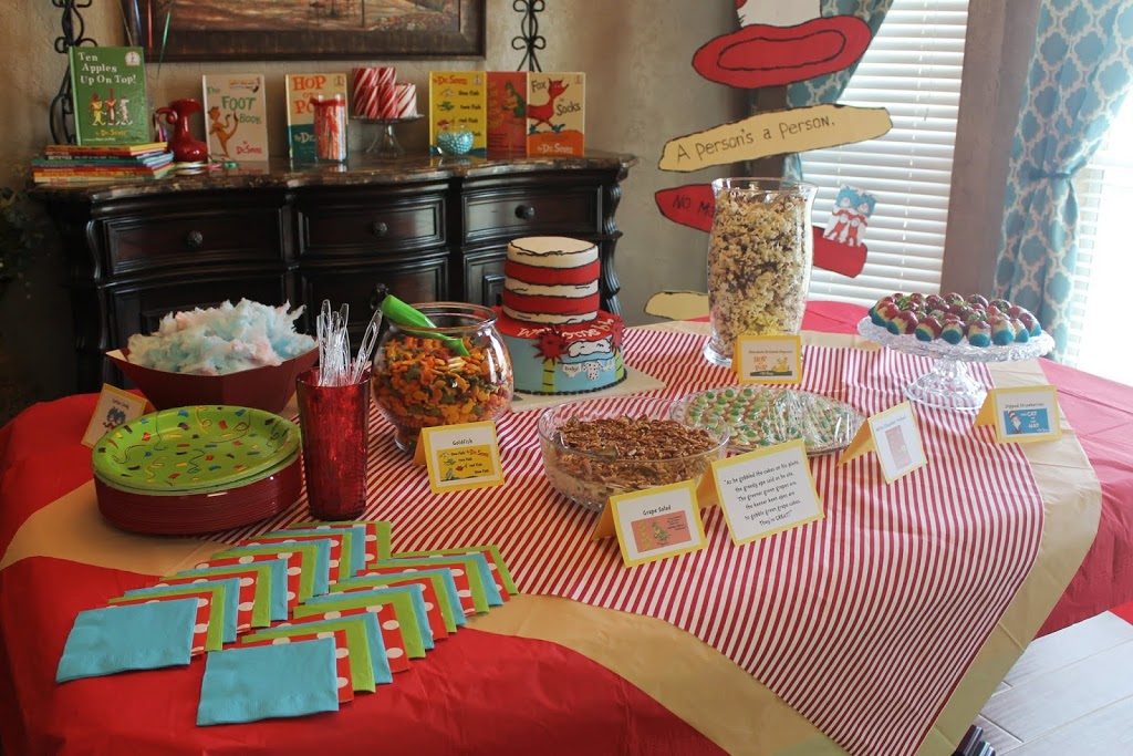 Dr Seuss Baby Shower Child At Heart Blog