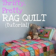 Beginner Sewing Rag Quilt Tutorials (Tested and Approved)