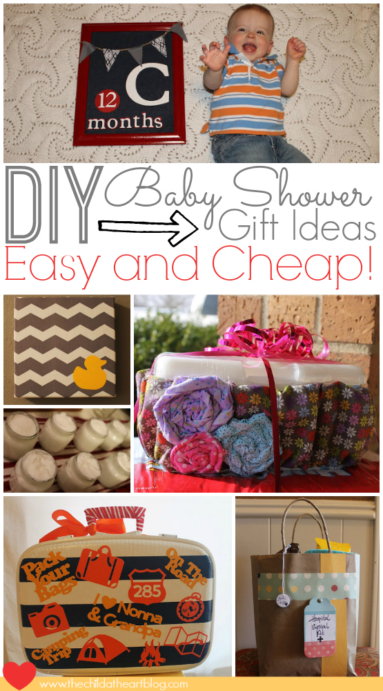 Easy And Cheap Baby Shower Diy Gift Ideas Child At Heart