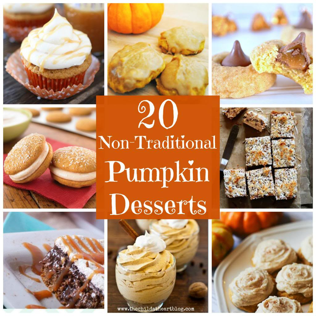 Non Traditional Pumpkin Desserts