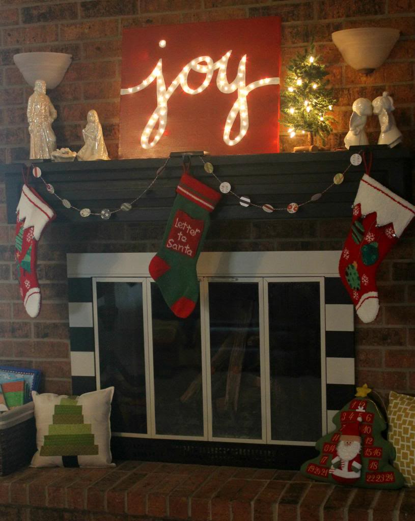 "Holiday ""JOY"" Light Marquis Canvas"
