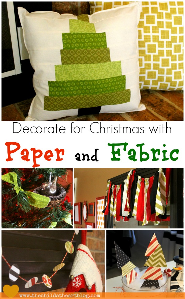 Decorate with Scraps for Christmas