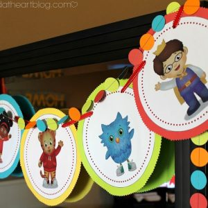 Daniel Tiger Birthday Party + 2 Free Printables