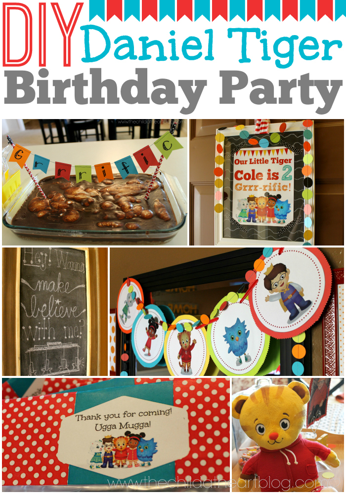 Daniel Tiger Birthday Party + 2 Free Printables - Child at ...