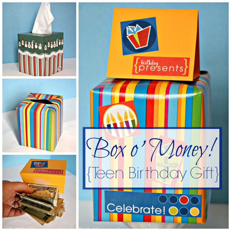 Box Of Money Teen Gift Idea By 3 Little Greenwoods