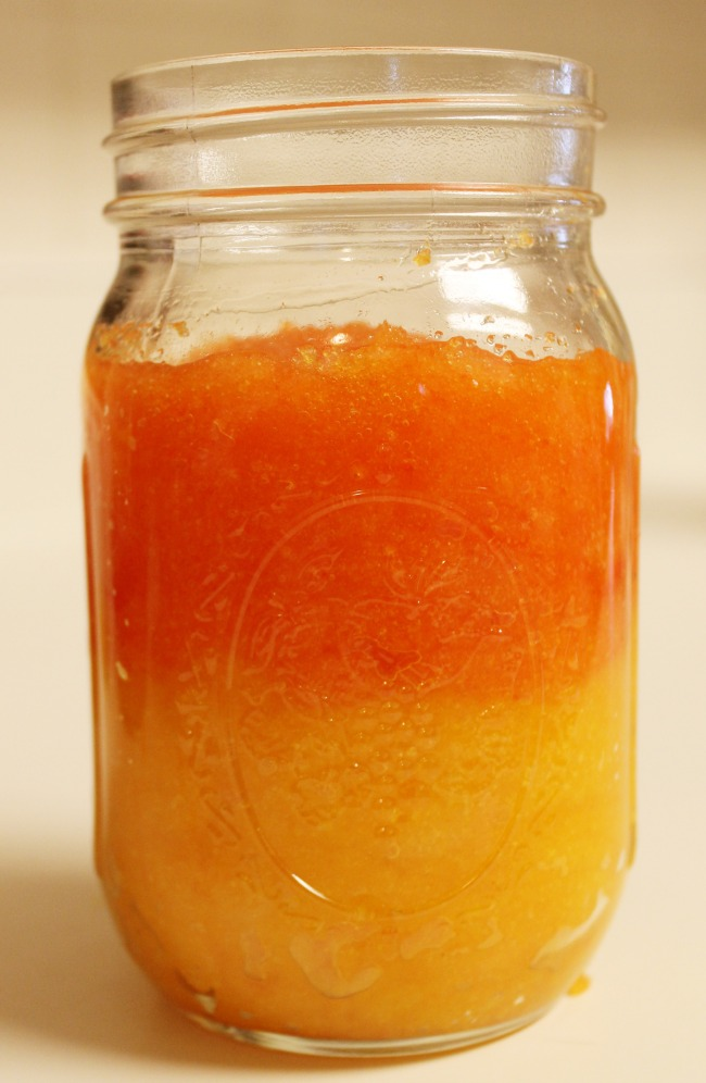 Candy Corn Sugar Scrub with Imperial Sugar