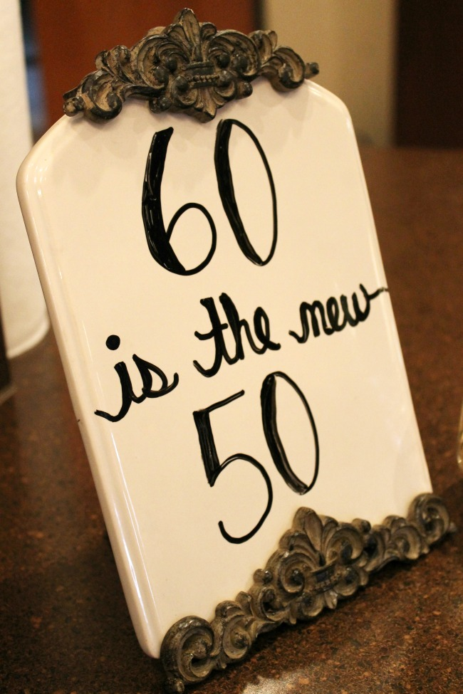 Shabby Chic 60th Birthday Party