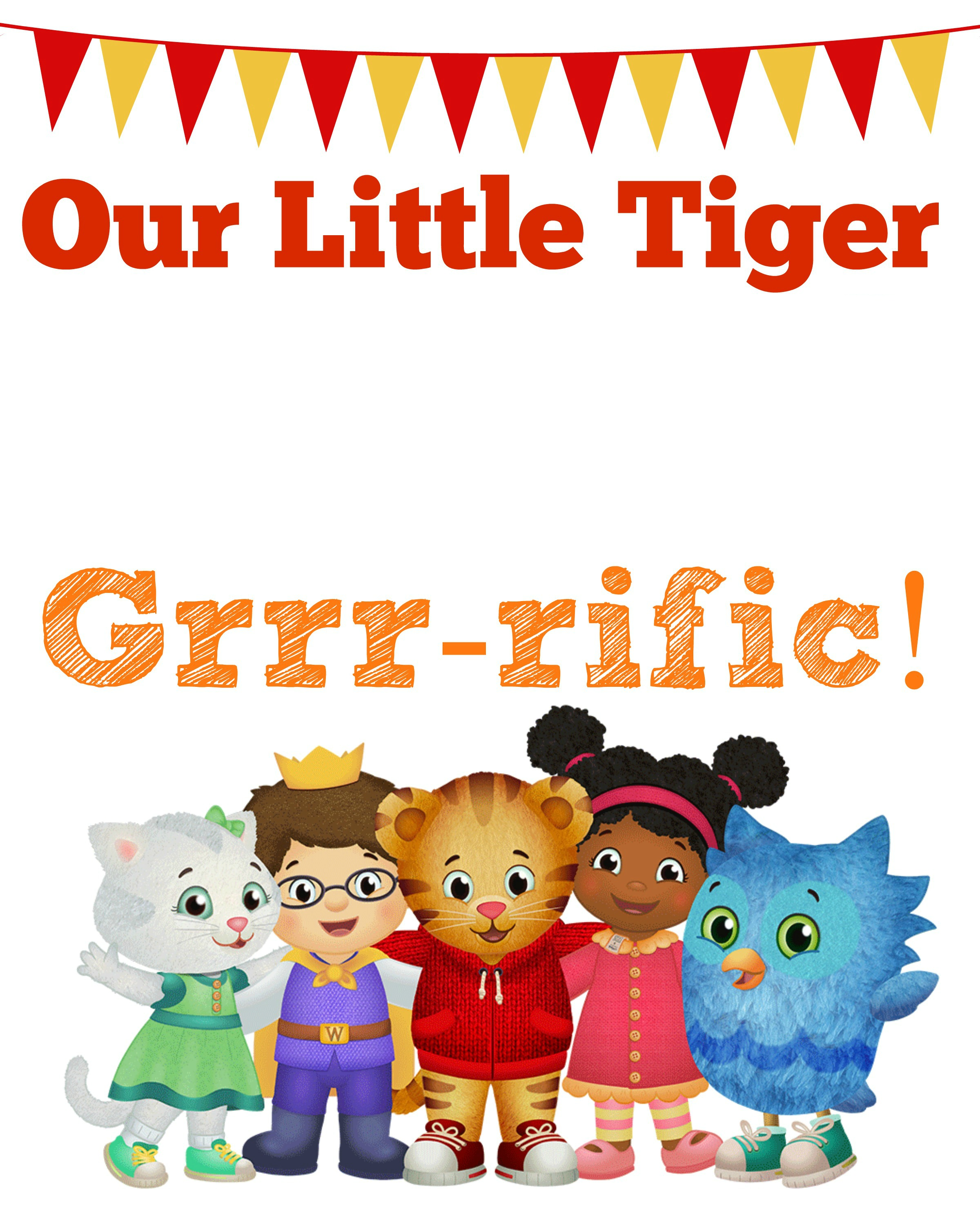 photo regarding Daniel Tiger Printable known as Daniel Tiger Birthday Bash + 2 Totally free Printables - Little one at