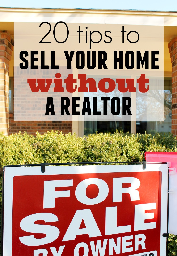 How To Sell Your Home Without A Realtor Child At Heart Blog