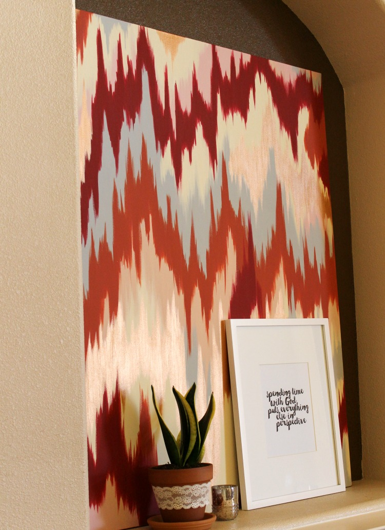 DIY Ikat Canvas: Child at Heart