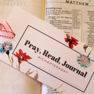 Pray, Read, Journal Bible Study Plan with FREE Bookmark