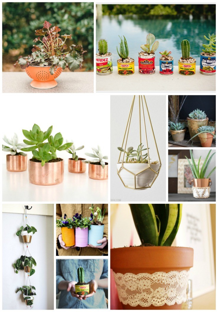 Cheap DIY Planter Ideas: the Child at Heart blog