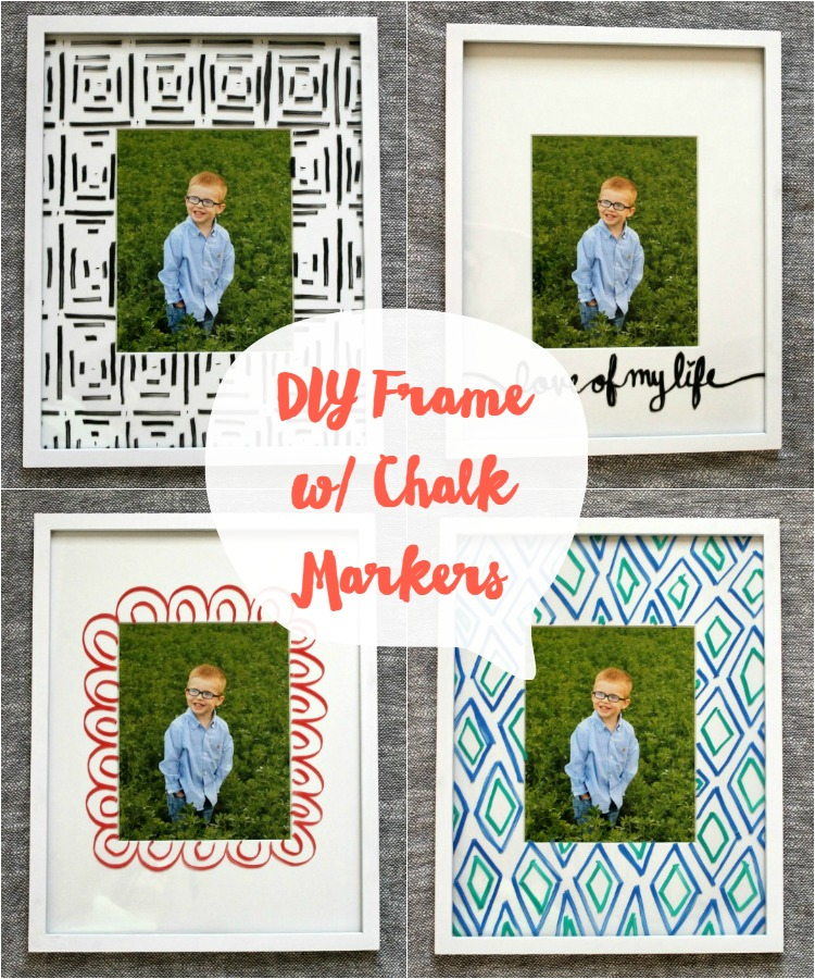 How to Personalize a Basic White Frame: 5 Easy Ideas - Child at ...