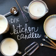 Kitchen Candle Mother's Day Gifts + FREE Printable Gift Tags