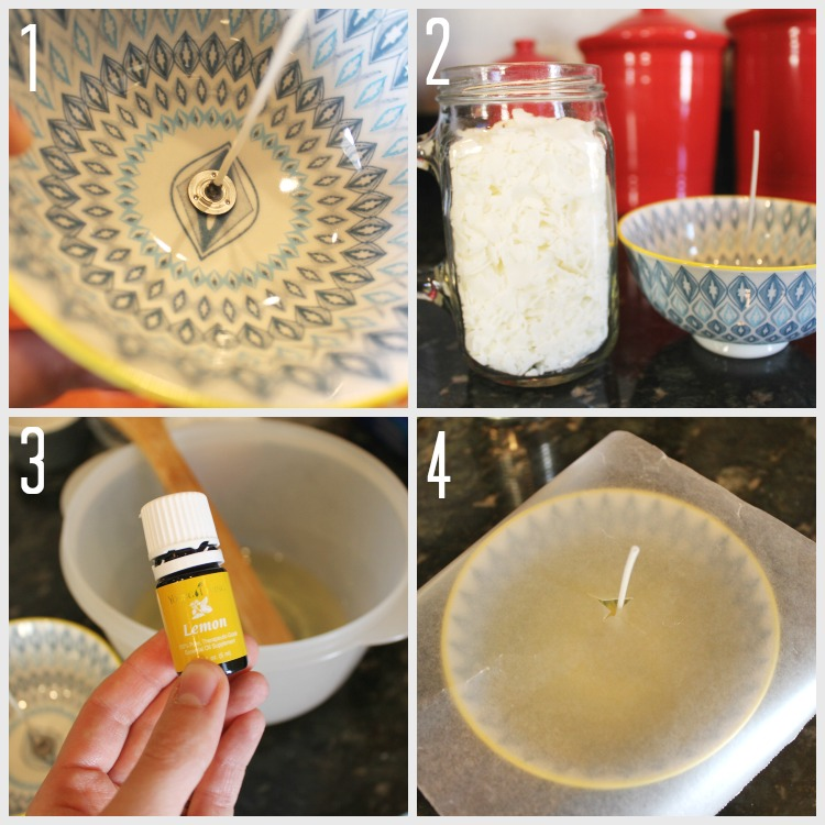 How to Make a Soy Essential Oils Candle in the Microwave:  Child at Heart