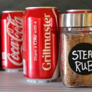 Share a Coke with Family + Yummy Coca-Cola Steak Rub Recipe for Father's Day