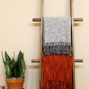 Easy DIY Blanket Ladder + 5 Creative Uses