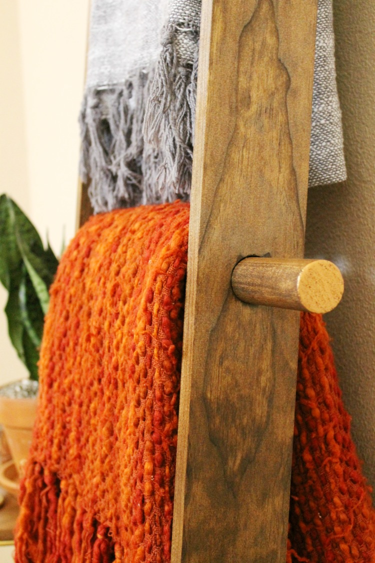 EASY DIY Blanket Ladder Tutorial + 6 Other Ways to Use It:  Child at Heart