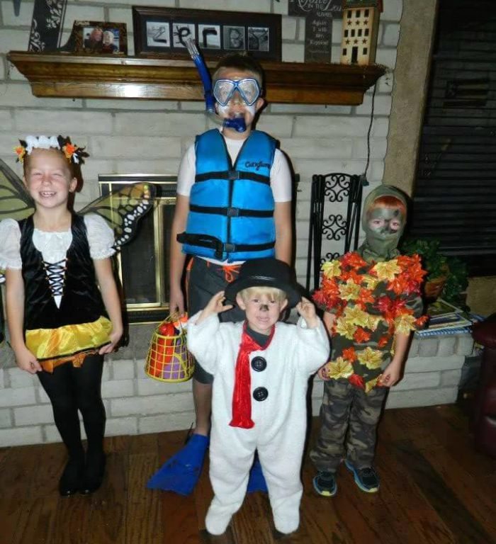 4-seasons-group-halloween-costume-idea & 4-seasons-group-halloween-costume-idea - Child at Heart Blog