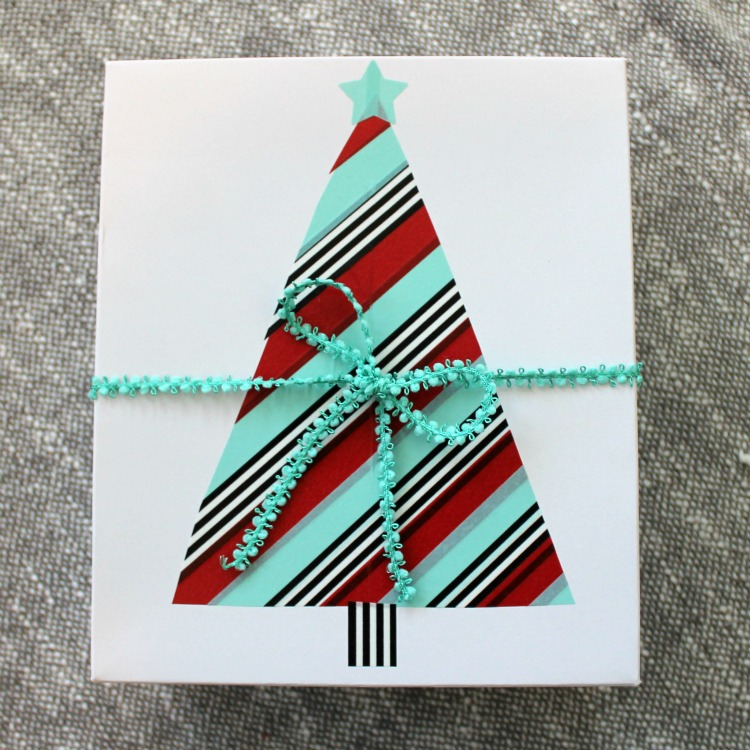 How to Decorate Christmas Presents with Washi Tape from Scotch® Brand: Child at Heart Blog