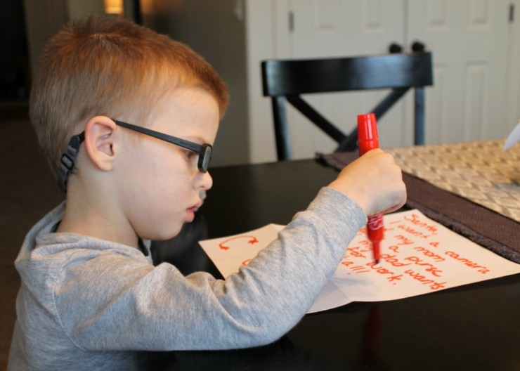 Letter from Santa Program with Alberstons: The Child at Heart Blog