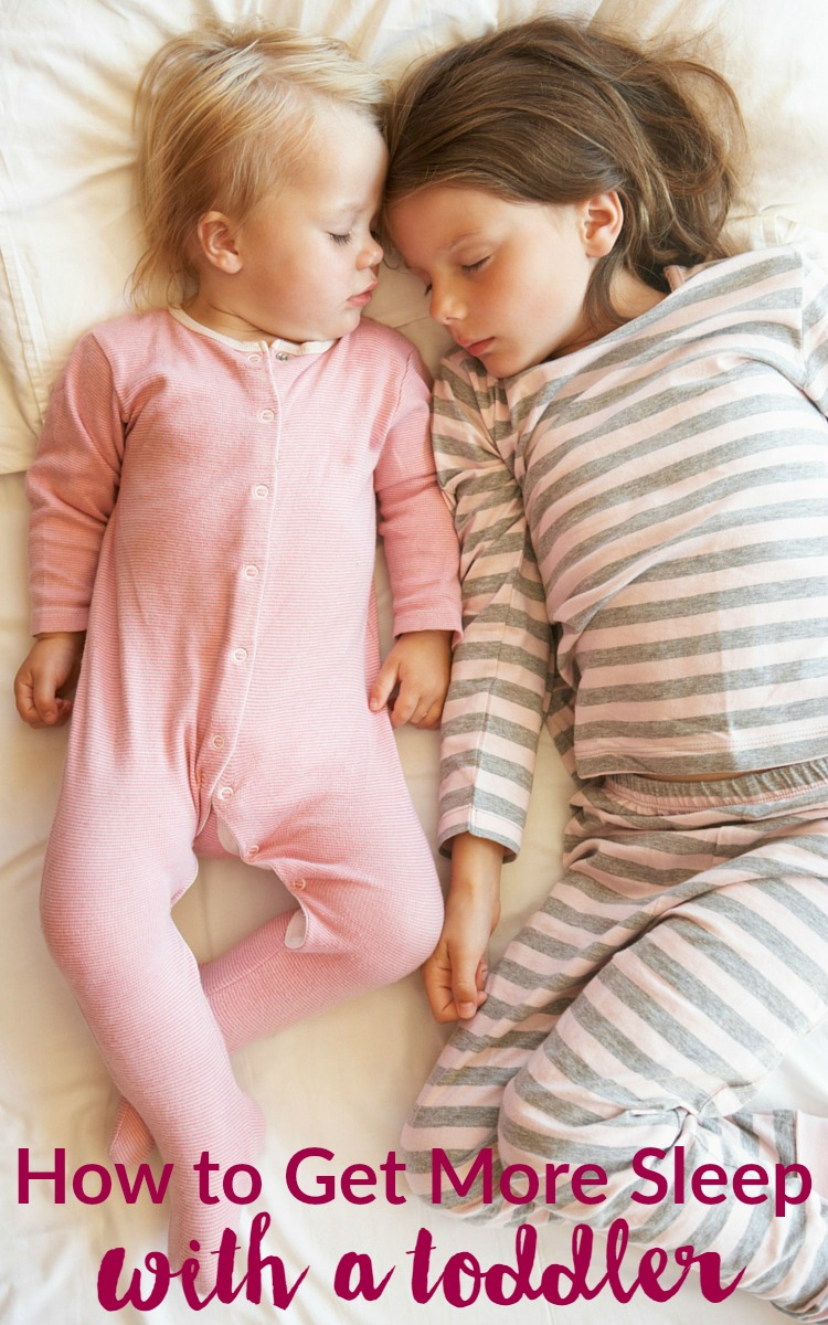 How to Get More Sleep with a Toddler or Early Riser: Child at Heart Blog