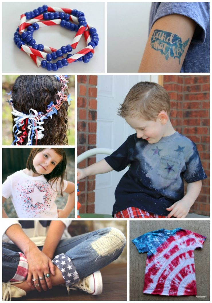 Patriotic Crafts, Recipe Ideas, Desserts, Party Ideas for 4th of July and Summer: Child at Heart Blog