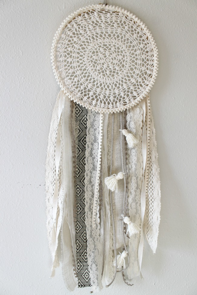 Diy Tassel Dreamcatcher Yarn Wall Art Tutorial Child At