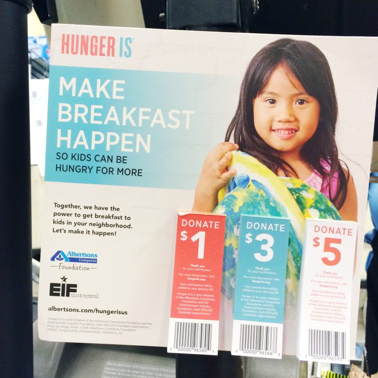"""Hunger Is"" Campaign at Albertsons: the Child at Heart blog"