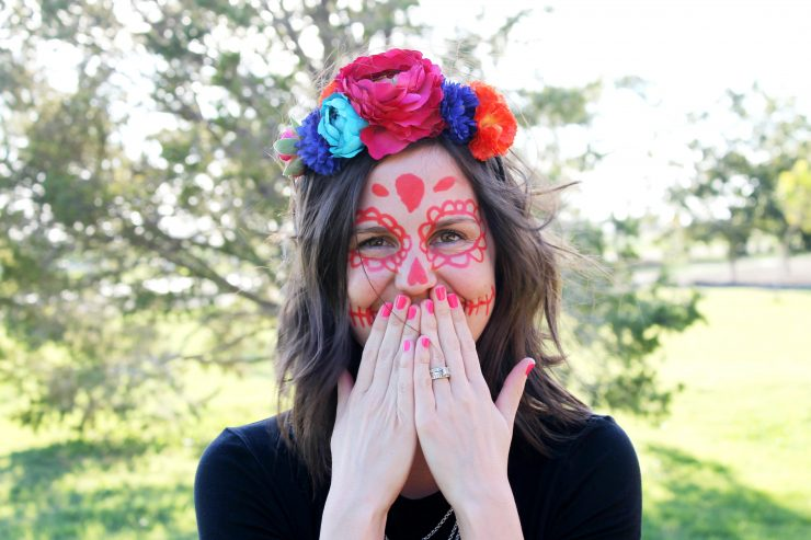 Day of the Dead Makeup Ideas: the Child at Heart blog