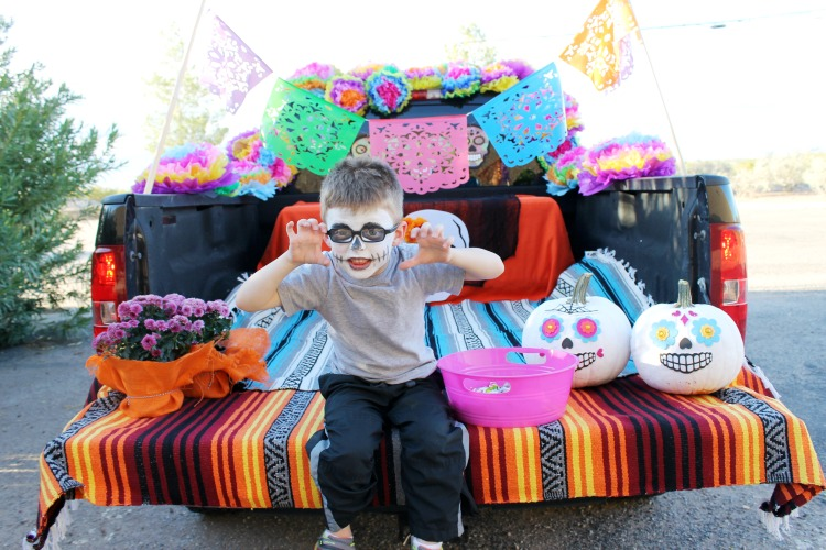 Day of the Dead Trunk or Treat Ideas: the Child at Heart Blog