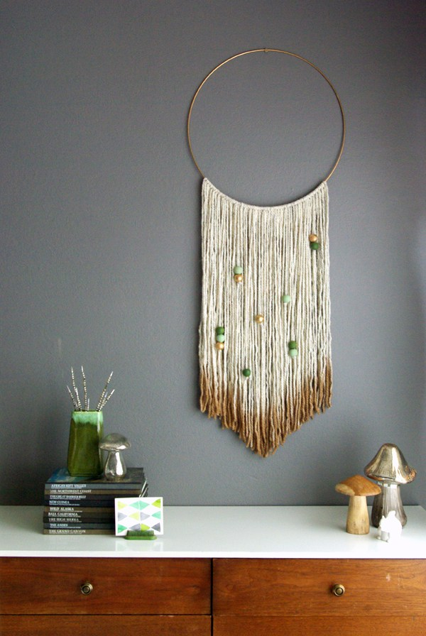 Pictures Of Diy Wall Decor : Easy diy yarn art wall hanging ideas child at heart
