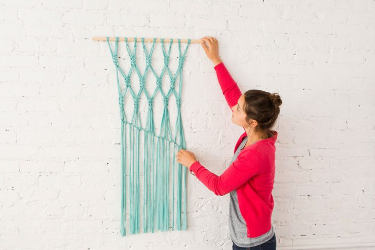 Wall Hanging Craft Ideas For Kids Part - 33: Easy DIY Yarn Art Wall Hanging Ideas: Child At Heart Blog