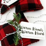 DIY Flannel Hand Warmers + How to Give Back this Holiday with Coca-Cola