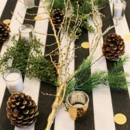 Black White and Gold 60th Birthday Party Ideas