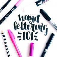 How to Learn Hand Lettering & Fake Calligraphy