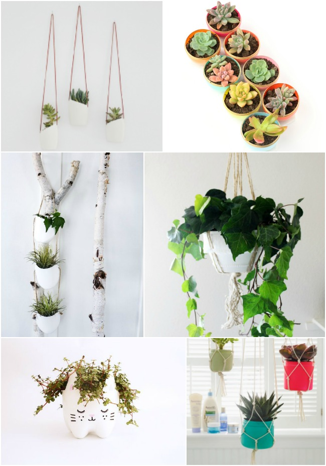 DIY Plastic Upcycle Planter Ideas and Tutorials: the Child at Heart blog