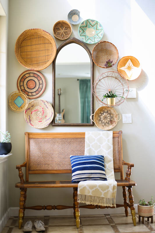 Wall Basket Decor Ideas and Inspiration: the Child at Heart blog