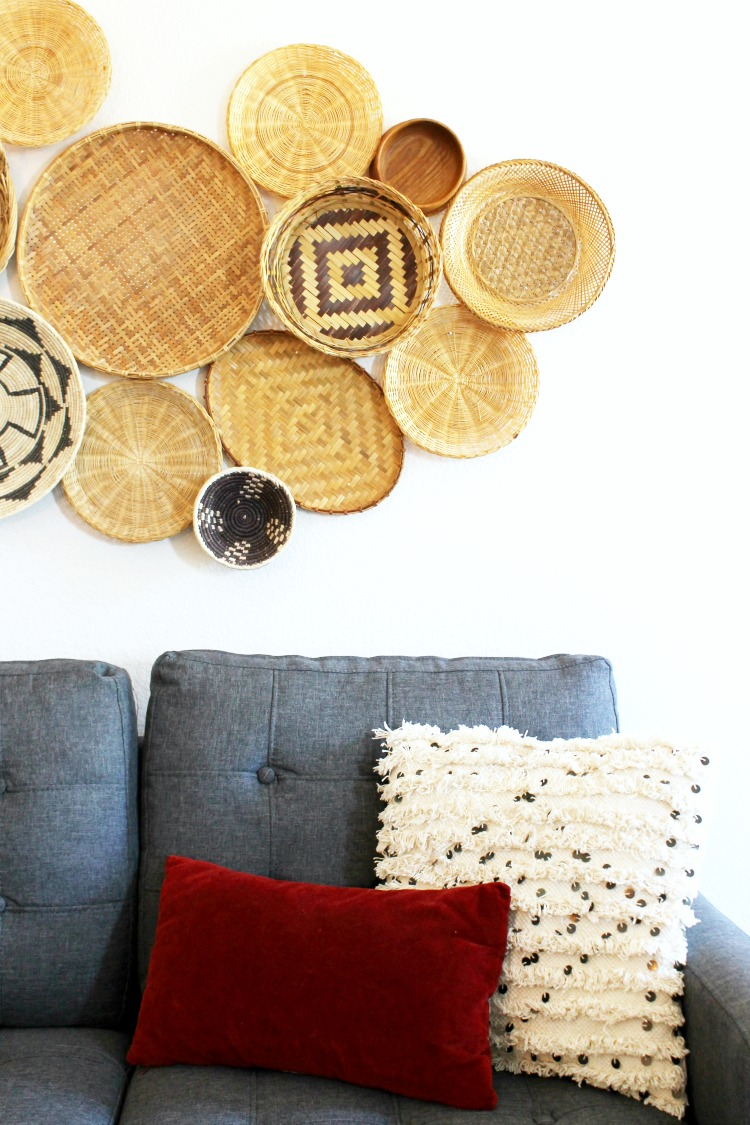 Wall Basket Decor Ideas and Inspiration - Child at Heart Blog