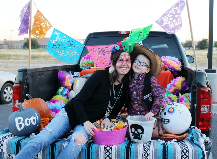 Day of the Dead Trunk or Treat Decoration Ideas: the Child at Heart blog