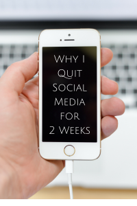 Why I Quit Social Media for 2 Weeks and What I Noticed: the Child at Heart blog