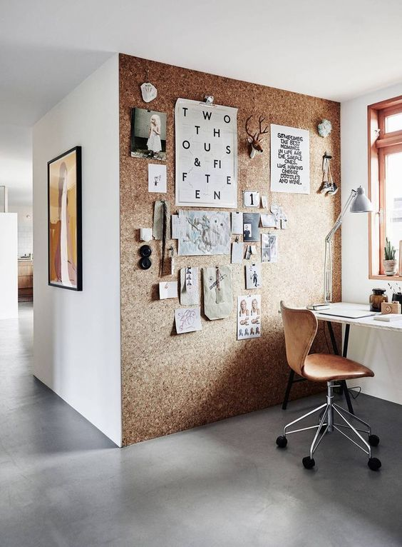 cork-wall-decor-idea