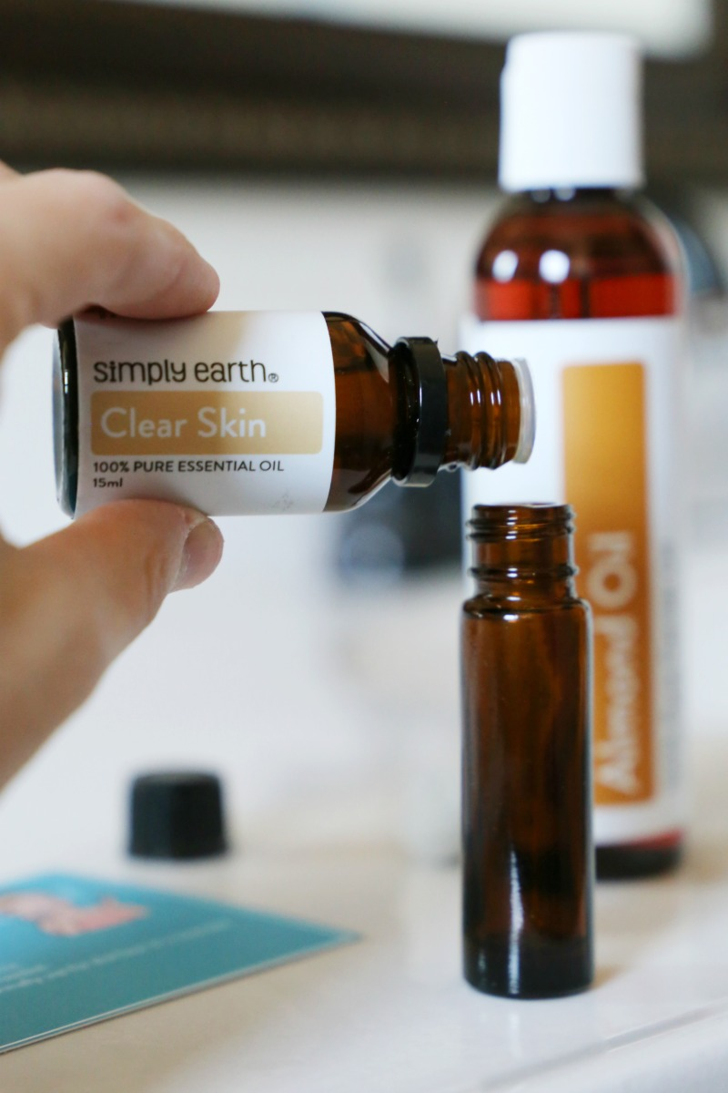 DIY Essential Oils Skin Care Recipes with Simply Earth