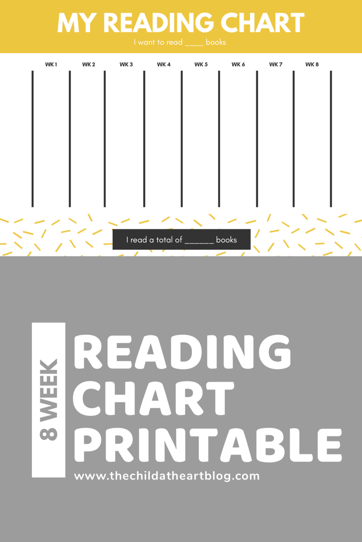 Reading Chart Printable for Kids